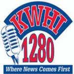Logo da emissora KWHI 1280 AM