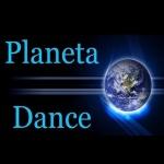 Logo da emissora Rádio Planeta Dance