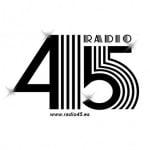 Logo da emissora Radio 45 106.4 FM