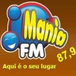 Logo da emissora Rádio Mania 87.9 FM