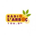 Logo da emissora Radio L'arboc 106.8 FM