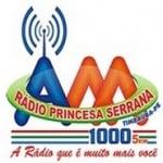 Logo da emissora Rádio Princesa Serrana 1000 AM