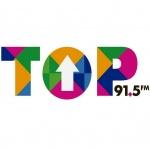 Logo da emissora Radio Top 91.5 FM