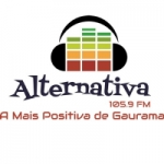 Logo da emissora Radio Alternativa FM 105.9