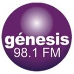 Logo da emissora Radio Génesis 98.1 FM
