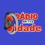 Logo da emissora Rádio Cidade AM 770
