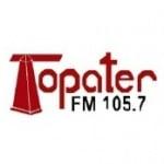 Logo da emissora Radio Topater FM 105.7