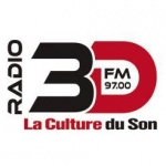 Logo da emissora Radio 3D 97 FM