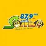 Logo da emissora Rádio Sorriso 87.9 FM