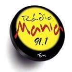 Logo da emissora Rádio Mania 91.1FM