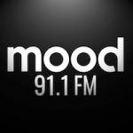Logo da emissora Rádio Mood 91.1 FM