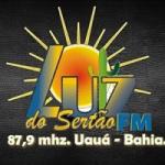 Logo da emissora Rádio Comunitária Luz do Sertão 87.9 FM