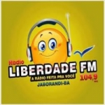 Logo da emissora Rádio Liberdade 104.9 FM