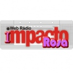 Logo da emissora Web Rádio Impacto Rosa