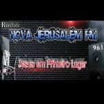 Logo da emissora Rádio Nova Jerusalém FM