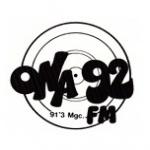 Logo da emissora Radio Ona 92 FM