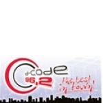 Logo da emissora D-Code 96.2 FM