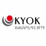 Logo da emissora KYOK 1140 AM