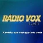 Logo da emissora Rádio Vox Light