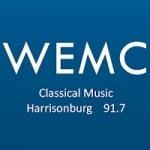 Logo da emissora WEMC 91.7 FM