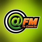 Logo da emissora Radio Arroba 104.9 FM
