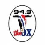 Logo da emissora KYOX 94.3 FM