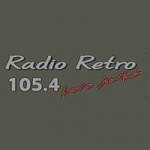 Logo da emissora Radio Retro 105.4 FM