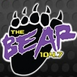 Logo da emissora KYYI 104.7 FM
