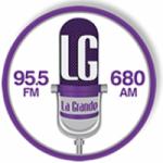 Logo da emissora Radio La Grande 95.5 FM