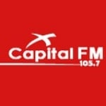 Logo da emissora Radio Capital 105.7 FM