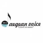 Logo da emissora Aegean Voice 107.5 FM