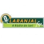 Logo da emissora Rádio Laranjal 87.9 FM