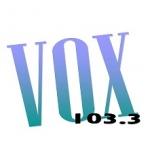 Logo da emissora Vox 103.3 FM