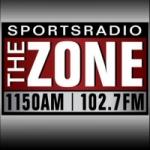 Logo da emissora KZNE 1150 AM
