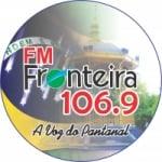 Logo da emissora Radio Fronteira FM 106.9