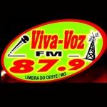 Logo da emissora Rádio Viva Voz 87.9 FM