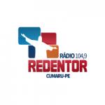 Logo da emissora Rádio Redentor 104.9 FM