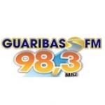 Logo da emissora Rádio Guaribas 98.3 FM