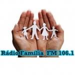 Logo da emissora Rádio Família Parobé 106.1 FM
