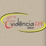 Logo da emissora Rádio Evidência 104.9 FM