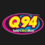 Logo da emissora KQXY Q94 FM