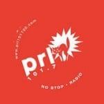 Logo da emissora PRL 101.7 FM