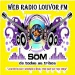 Logo da emissora Web Rádio Louvor FM