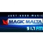 Logo da emissora Magic Malta 91.7 FM