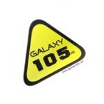 Logo da emissora Radio Galaxy 105 FM