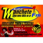 Logo da emissora Rádio Manchete 96.3 FM