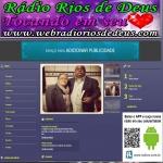 Logo da emissora Web Rádio Rios de Deus