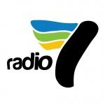 Logo da emissora Radio 7 90.8 FM