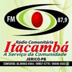 Logo da emissora Rádio Itacambá 87.9 FM