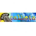 Logo da emissora Rádio Calheta 98.8 FM